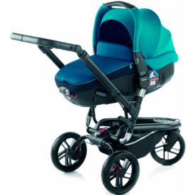 BABY STROLLER JANÉ TRIDER MATRIX LIGHT 2 S46 TEAL