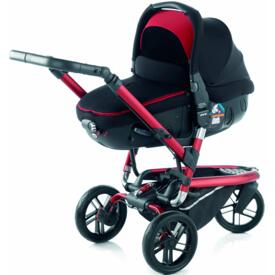BABY STROLLER JANÉ TRIDER MATRIX LIGHT 2 S53 RED