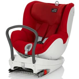 Car seat DUAL FIX Flame Red