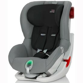 CAR SEAT RÖMER KING II ATS MINERAL STEEL GREY