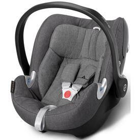 CYBEX ATON Q CAR SEAT MYSTIC PLUS MANHATTAN GREY