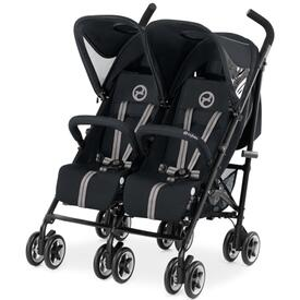 CYBEX TWINYX TWIN BUGGY DOUBLE STARDUST BLACK