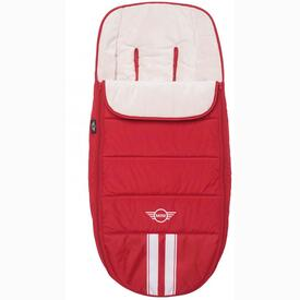 EASYWALKER MINI FOOTMUFF FIREBALL RED