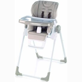 FOLDING HIGH CHAIR JANE MILA WHITE CREAM S19