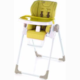 FOLDING HIGH CHAIR JANE MILA WHITE PISTACHIO S44