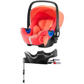 PACK BABY SAFE I-SIZE CAR SEAT WITH FLEX BASE RÖMER  CORAL PEACH