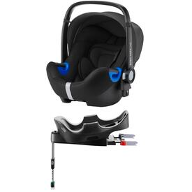 PACK BABY SAFE I-SIZE CAR SEAT WITH FLEX BASE RÖMER COSMOS BLACK