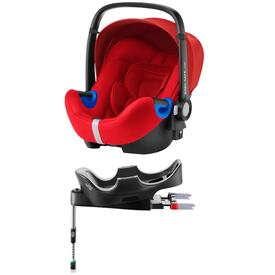 PACK BABY SAFE I-SIZE CAR SEAT WITH FLEX BASE RÖMER FLAME RED