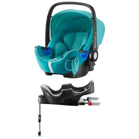 PACK BABY SAFE I-SIZE CAR SEAT WITH FLEX BASE RÖMER  LAGOON GREEN