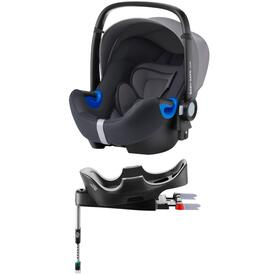 PACK BABY SAFE I-SIZE CAR SEAT WITH FLEX BASE RÖMER STORM GREY