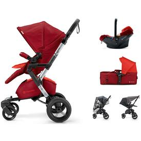 PUSHCHAIR CONCORD NEO MOBILITY SET FLAMING RED