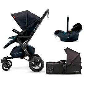PUSHCHAIR CONCORD NEO MOBILITY SET MIDNIGHT BLACK