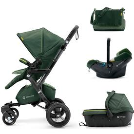 PUSHCHAIR CONCORD NEO TRAVEL SET JUNGLE GREEN