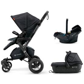 PUSHCHAIR CONCORD NEO TRAVEL SET MIDNIGHT BLACK