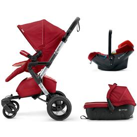PUSHCHAIR CONCORD NEO TRAVEL SET TOMATO RED