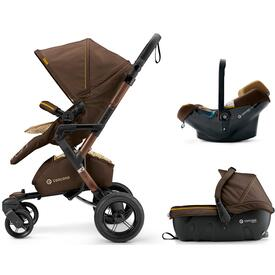 PUSHCHAIR CONCORD NEO TRAVEL SET WALNUT BROWN