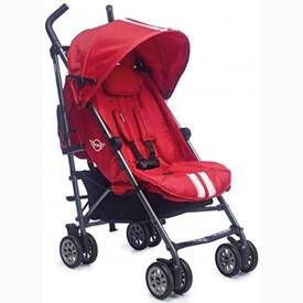 STROLLER EASY WALKER MINI BUGGY FIREBALL RED