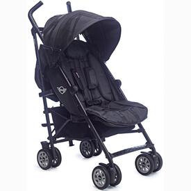 STROLLER EASY WALKER MINI BUGGY MIDNIGHT BLACK