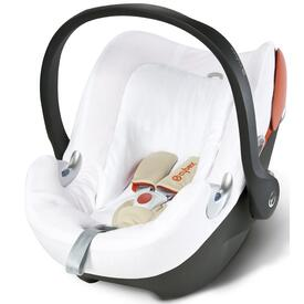 Summer Cover Cybex ATON Q white