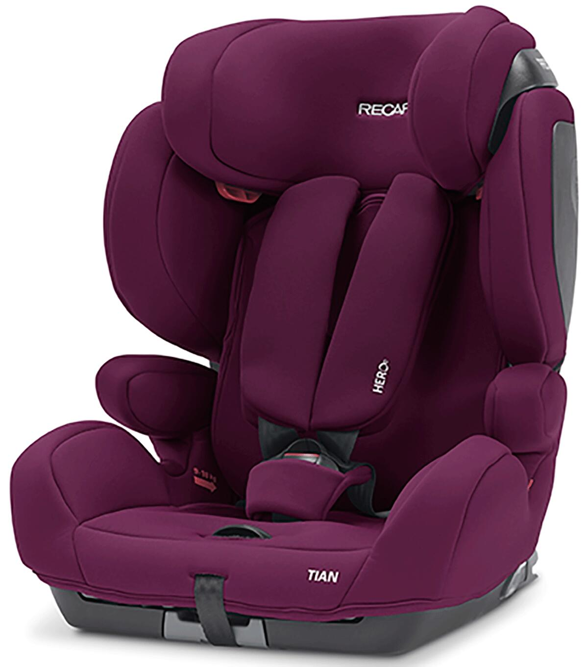 Recaro Tian Gr 1 2 3 Car Seat, Recaro Child Car Seat Tian Elite