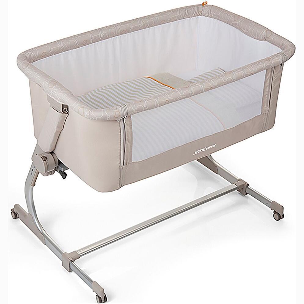 Mini Crib Moises Cosleeper Baby Side Jan 233 Elephant